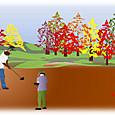 秋の グランドゴルフ